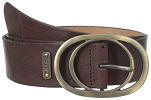 Ladie's Brown Leather Belt