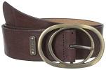 Ladie's Brown Leather Belt